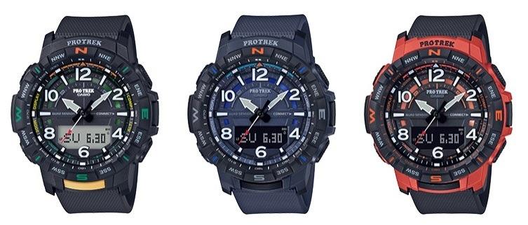 「PRT-B50」がブラック、ブルー、オレンジの3色