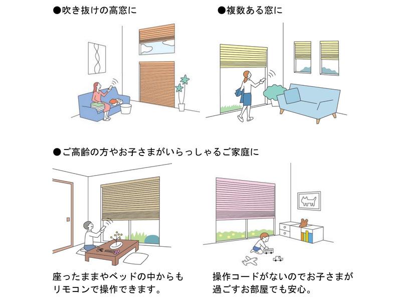 住宅での使用例