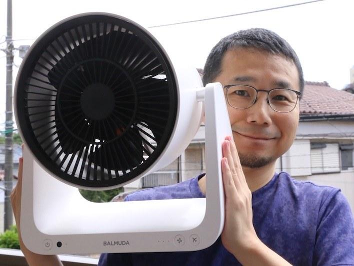 バルミューダ「GreenFan C2」2万2600円(税別)