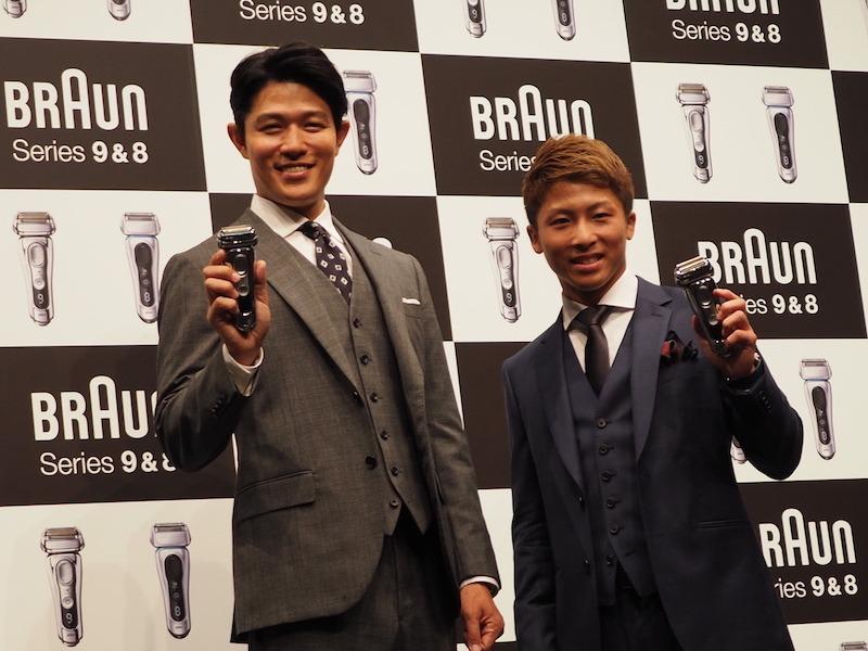 俳優の鈴木 亮平氏と、プロボクサーの井上 尚弥氏