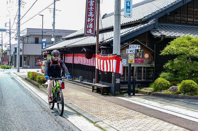 その後は腹ごなしのポタリング。富士宮市内を見て回ります