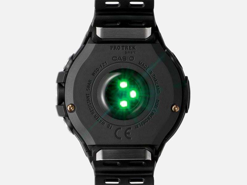 新たに光学センサーを搭載し、心拍計測機能を備える