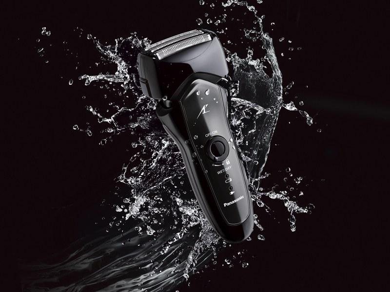 IPX7の防水性を備え、お風呂剃りにも対応
