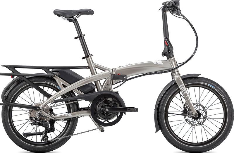 折りたたみのミニベロe-bike「Vektron」(※リアキャリアはオプション)
