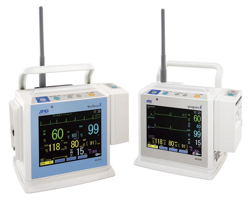 入院したときに気づいた人がいるかも? 心電図(生態情報モニタ)には、アンテナの付いているものもある