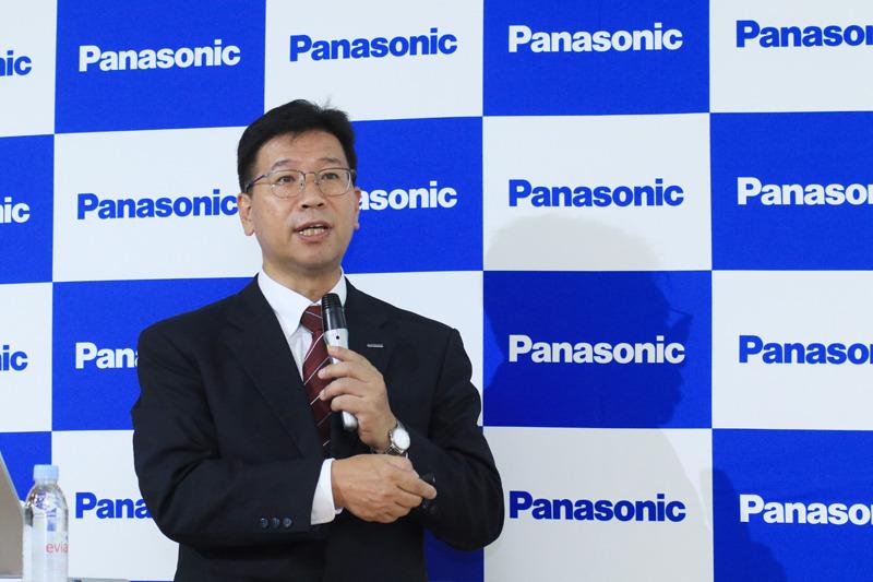 パナソニック イノベーション推進部門 ビジネスイノベーション本部 IoT PLCプロジェクト 総括担当の荒巻 道昌氏
