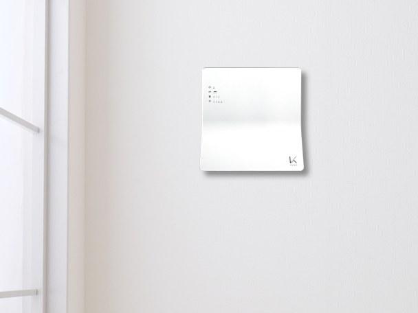 インテリアになじむ薄型・軽量な壁掛けタイプ
