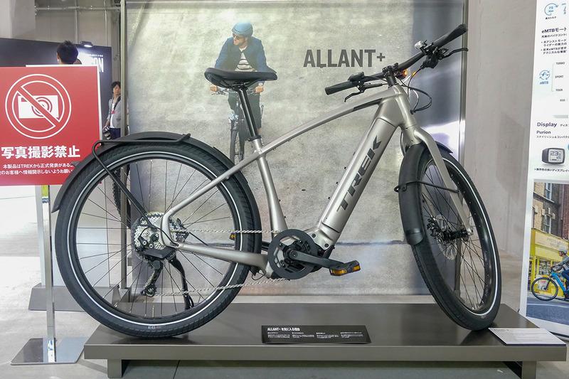 クロスバイクタイプのe-bike「Allant+ 8」