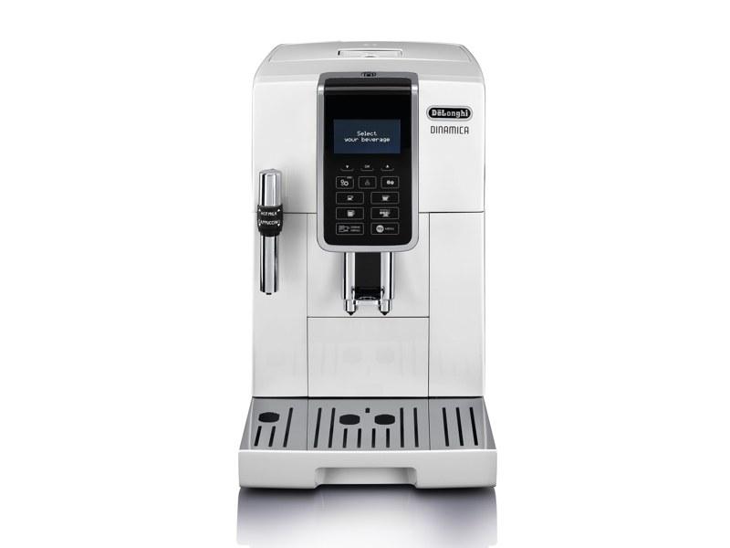 デロンギ ディナミカ コンパクト全自動コーヒーマシン「ECAM35035W」