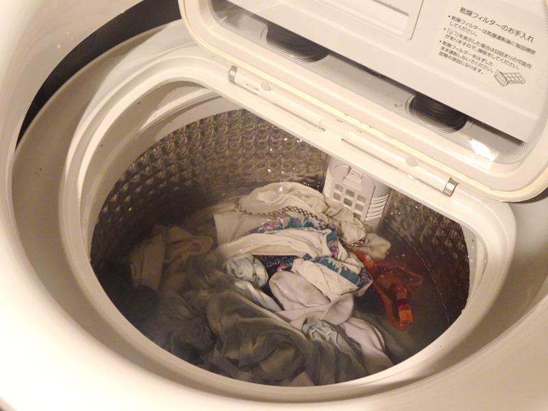 洗濯量に対して水量が想像よりも少ないと感じたが、洗濯槽やパルセーターの構造や動きによって洗濯物をしっかりと攪拌して洗ってくれる