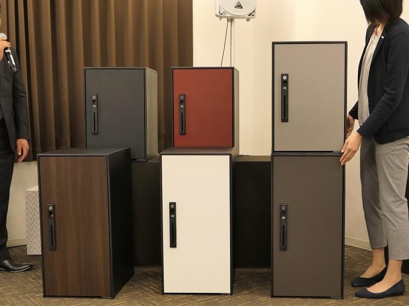 宅配ボックスを2つ重ねることも可能