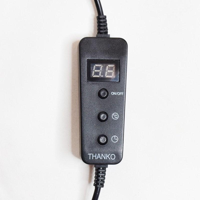 ヒーター温度は35℃/45℃/55℃の3段階で切り替え可能