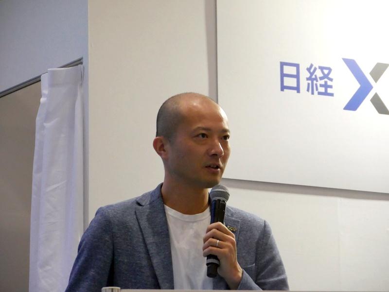 パナソニック ビジネスイノベーション本部長の馬場渉氏