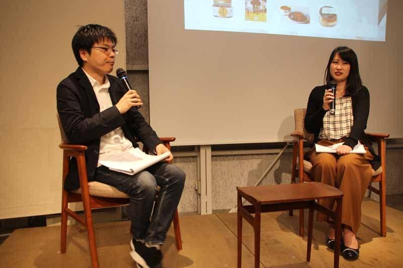 料理家・樋口 直哉さん(左)と塚原 知里さん