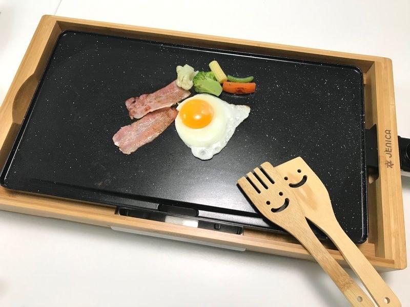 「JENICA セラミックグリルプレート」価格:3,980円(税抜)