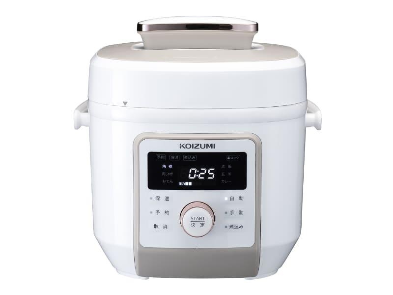 「マイコン電気圧力鍋 KSC-4501/W」