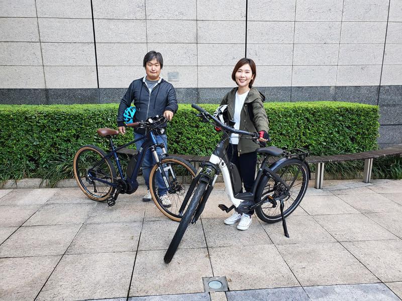 e-bike部に新メンバーが加入! 今回は東京をe-bikeでサイクリング