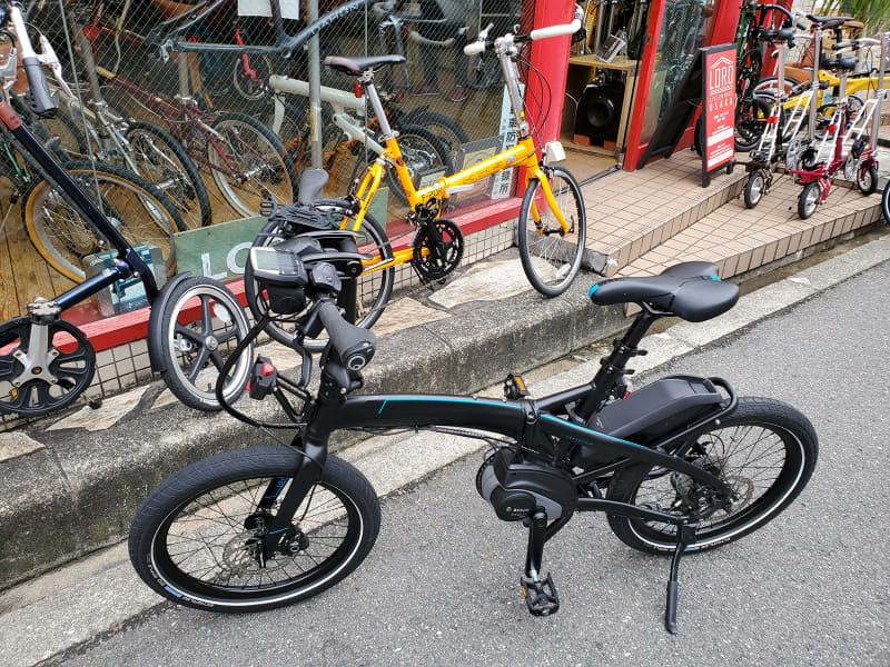 レンタルしたe-bikeはターン「Vektron S10」