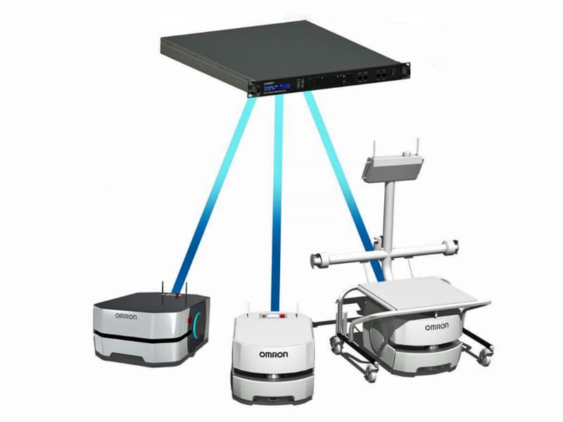 制御システム「フリートマネージャ」により、従来モデルも合わせて制御できる