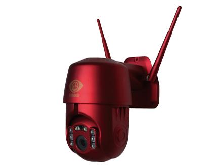 屋外用防犯カメラ「ダイビーボットアイ GS-DVYPTZ-101」
