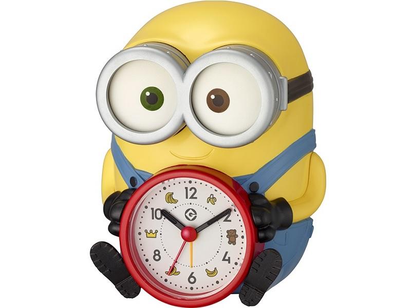 「ミニオン」の音声付めざまし時計
