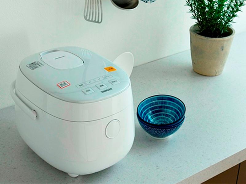 糖質を減らせるマイコン炊飯器「YJF-M30CC」