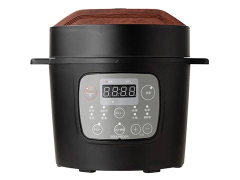 共栄物産「マイコン式2.0L電気圧力鍋 ブラック/ホワイト」