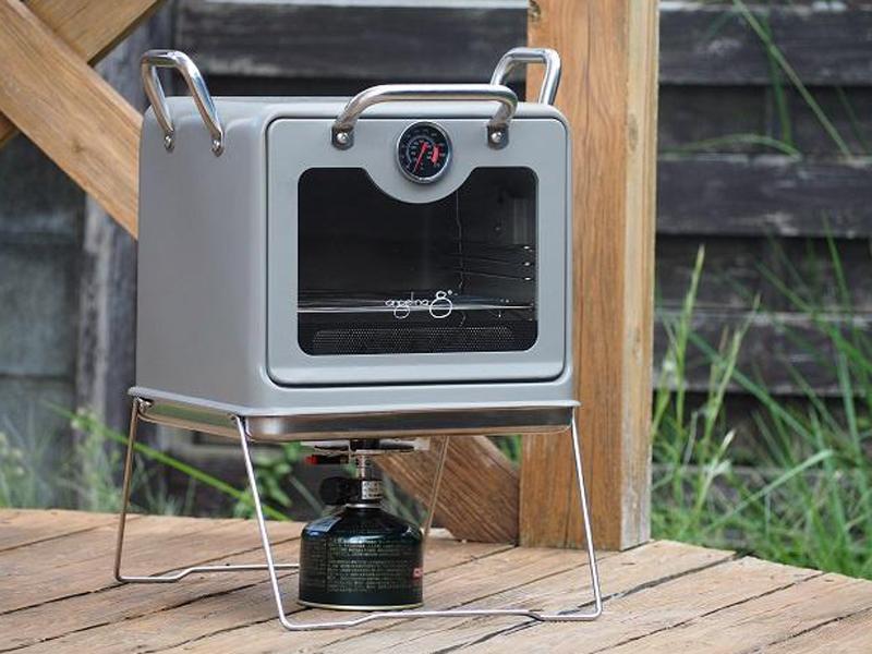 アウトドア用マルチオーブン「Stove top oven」