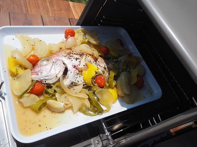 蒸し料理も作れる
