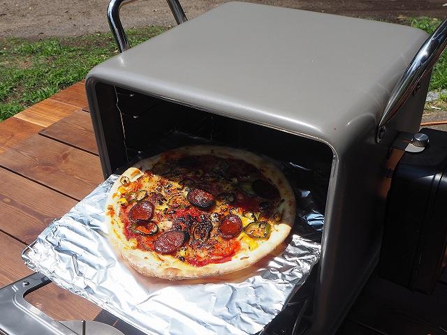 ピザも焼ける