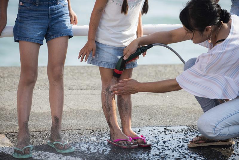 水道が使えないビーチなど、アウトドアでも便利に使えそうなFontus。キャンプとかにも向きそうですね~