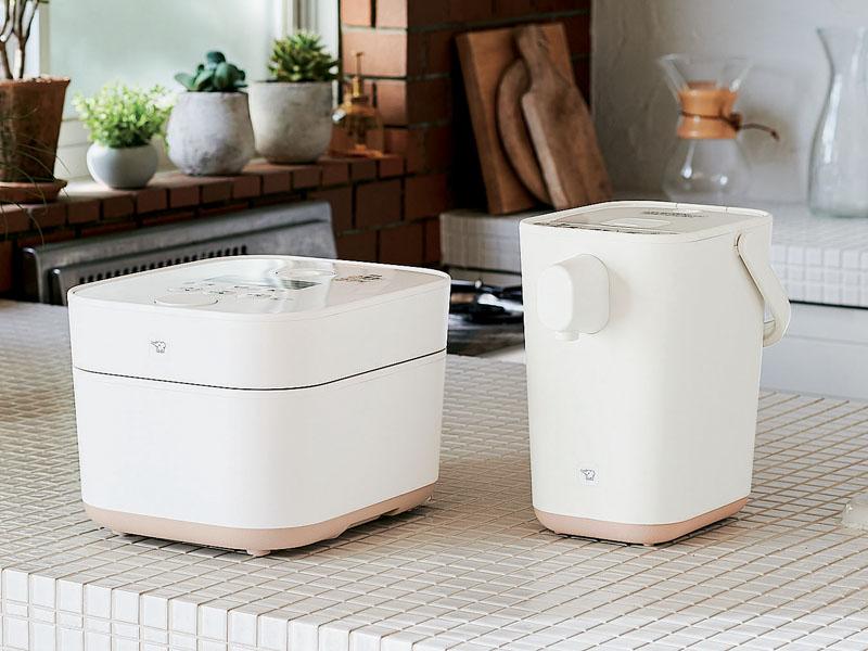 IH炊飯ジャーと電動ポットに、新色ホワイトを追加