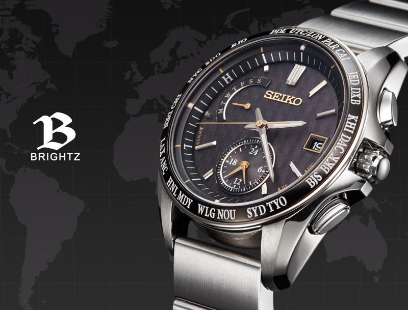 Seiko Brightz wena wrist pro Solar Radio-controlled set Silver-20th Anniversary Special Edition-「WNW-SB16A/S」