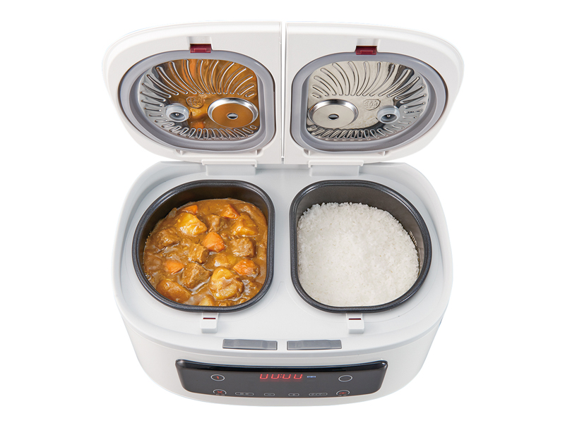 自動調理鍋「ツインシェフ」