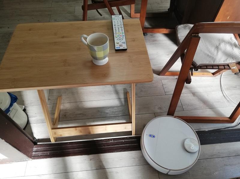 段差を無理に越えようとしないように、手近な家具でバリケードを作る