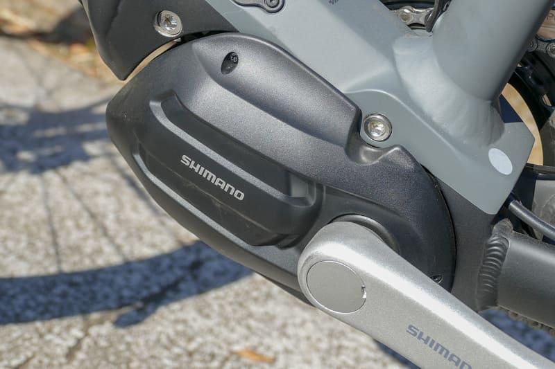 メリダ「ePASSPORT 400 EQ」のドライブユニットは、シマノSTEPS「E5080シリーズ」
