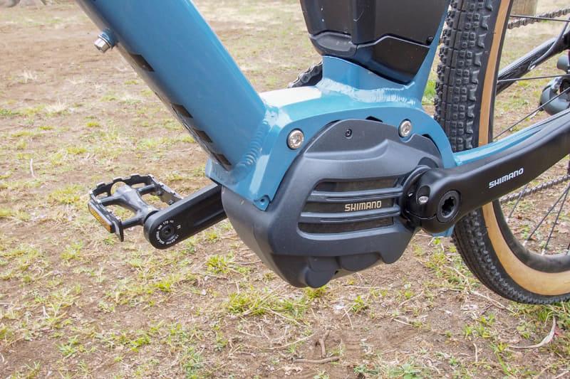 ミヤタ「ROADREX 6180」のドライブユニットは、シマノSTEPS「E6180シリーズ」