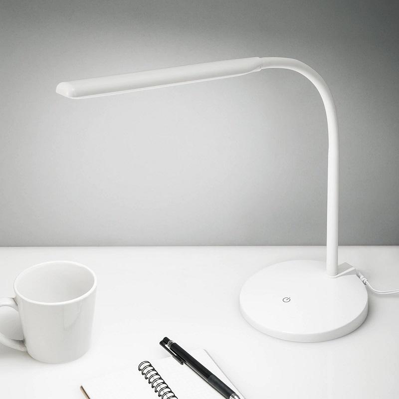 「LEDデスクライト BATON」 ホワイト