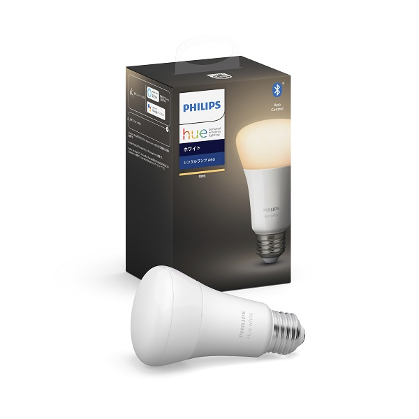 Hue ホワイト シングルランプ Bluetooth + Zigbee