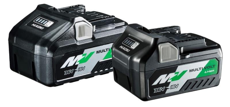 同社のマルチボルト蓄電池により、AC品並みの切断性能