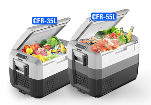 ポータブル冷蔵冷凍庫「YUNGER CFR」シリーズ