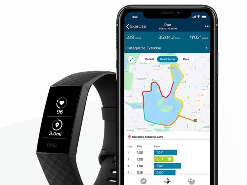 ワークアウト後には専用アプリで、辿ったルートに沿って心拍数ゾーンごとのワークアウト強度を確認できる