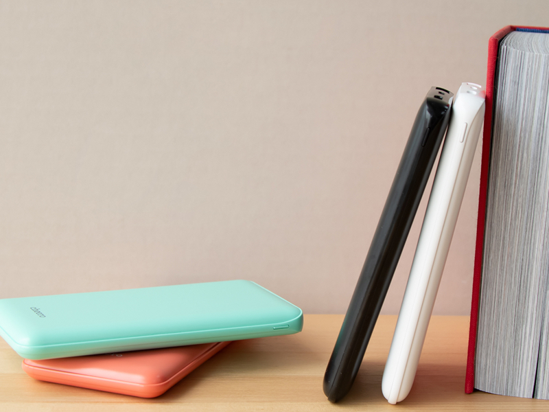 cheero Flat 10000mAh with Power Delivery 18W「CHE-112」