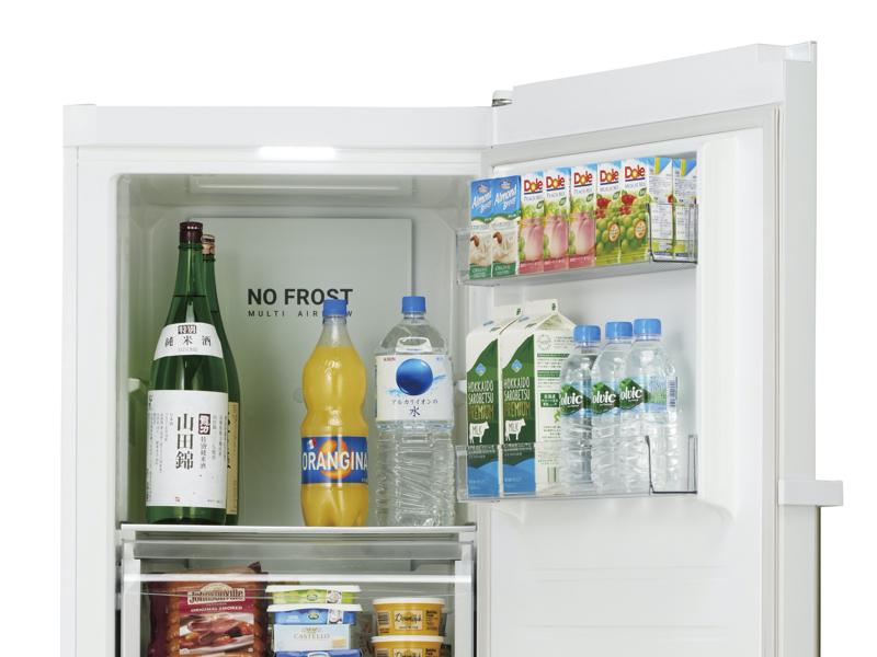 -24℃~4℃まで6段階での温度調節が可能。「4℃」に設定すれば、冷蔵スペースとしても活用できる