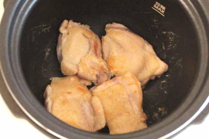 火力は十分で、鶏肉にもきれいな焼き色が付いた
