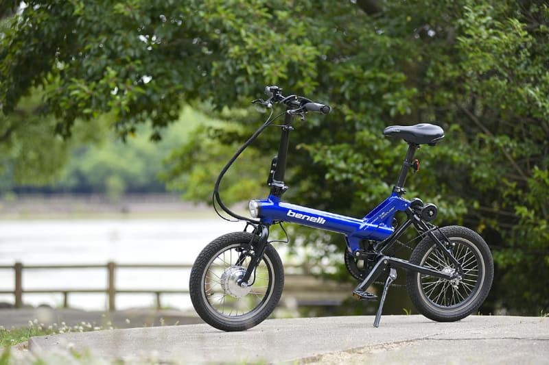 ベネリで人気の折りたたみ式ミニベロe-bikeに新モデル「mini Fold16 popular」が登場