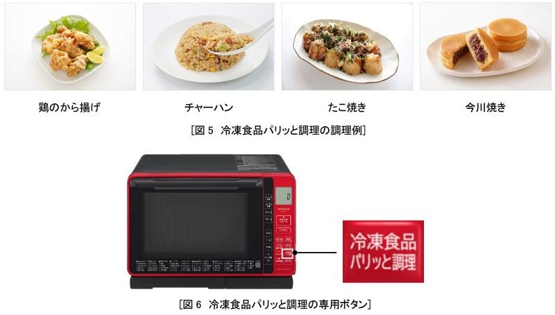 レンジ&オーブン加熱で冷凍食品をパリッと仕上げる