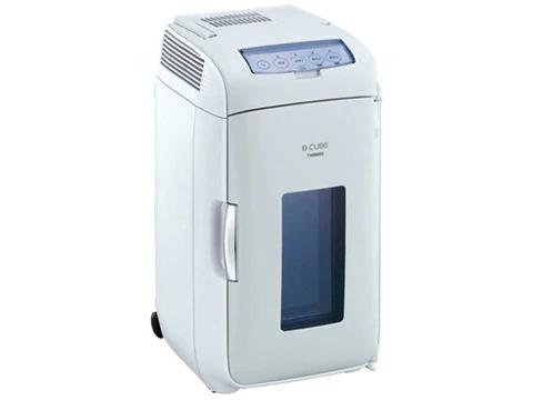 ツインバード工業 2電源式ポータブル電子適温ボックス D-CUBE L グレー HR-DB07GY