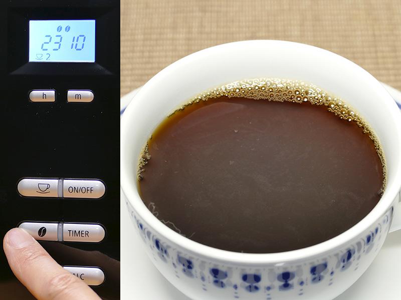 【コーヒー豆ボタン2】色も濃くなり、酸味にコクがプラスされた印象