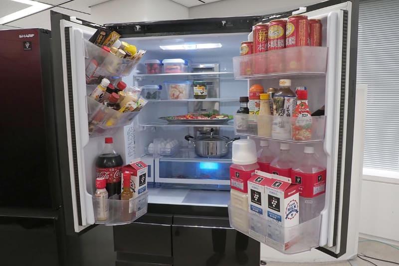 SJ-AF50Gの冷蔵室